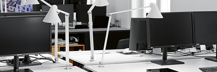 Bureaulampen met schroefbevestiging