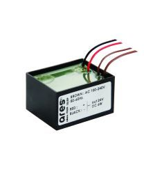Ares Power supply 24V 8W / 110-240V IP65 Class II selv. Non Dimmable