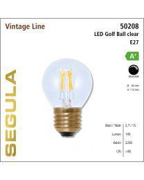 Segula LED Golf Ball clear CRI>90 2200K E27 180 lm