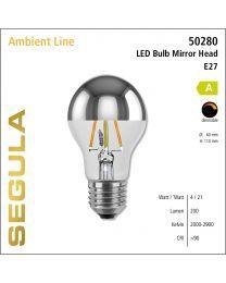 Segula LED Bulb Mirror Head CRI>90 2000-2900K E27 200 lm