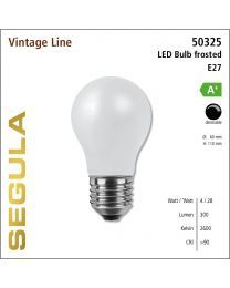 Segula LED Bulb frosted CRI>90 2600K E27 360 lm