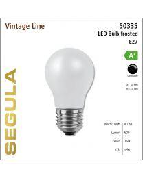 Segula LED Bulb frosted CRI>90 2600K E27 720 lm
