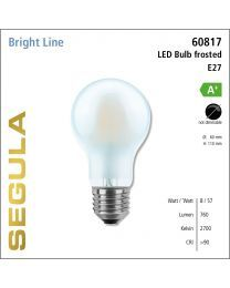 Segula LED Bulb frosted CRI>90 2700K E27 760 lm