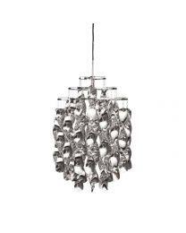 Verpan Spiral Mini Silver Hanglamp
