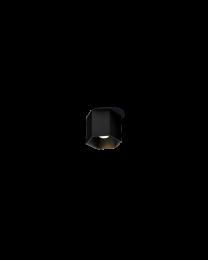 Wever & Ducré Hexo Ceiling 1.0 Led Dim Zwart