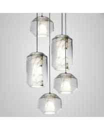 Lee Broom Chamber Chandelier 5 Piece Hanglamp