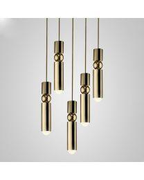 Lee Broom Fulcrum Chandelier 5 Piece Hanglamp