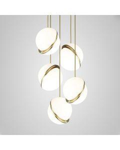 Lee Broom Mini Crescent Ø20cm Chandelier 5 Piece Hanglamp